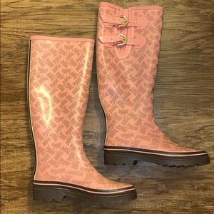 Juicy Couture Rain Boots. Used.